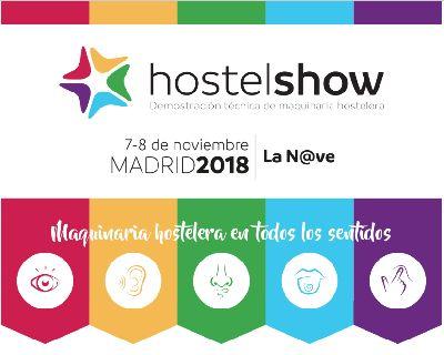 HOSTELSHOW - en Madrid los días 7 y 8 de Noviembre de 2018