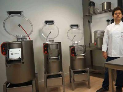 Vídeo demostrativo de las Peladoras de patatas de Sammic en funcionamiento