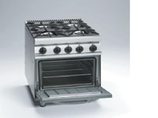 Cocina Y Horno | Cocina Con Horno Cg7 41 Fagor