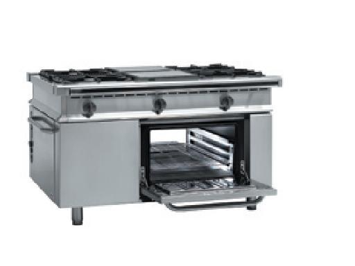 Cocina central con horno pasante CG-1502 FAGOR