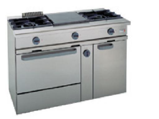 Cocina a gas con horno CG-310 FAGOR