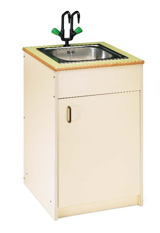 Mueble fregadero for Mueble para calentador de agua