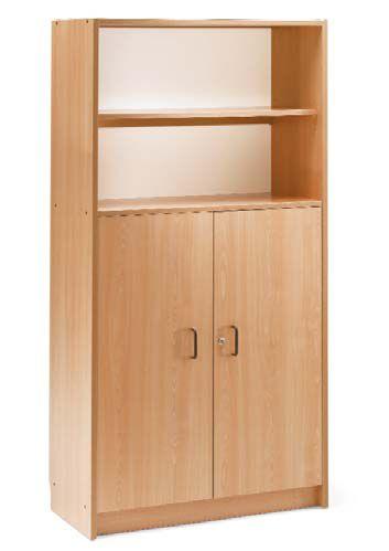Armario con estantes y puertas - Estanterias para armarios ...