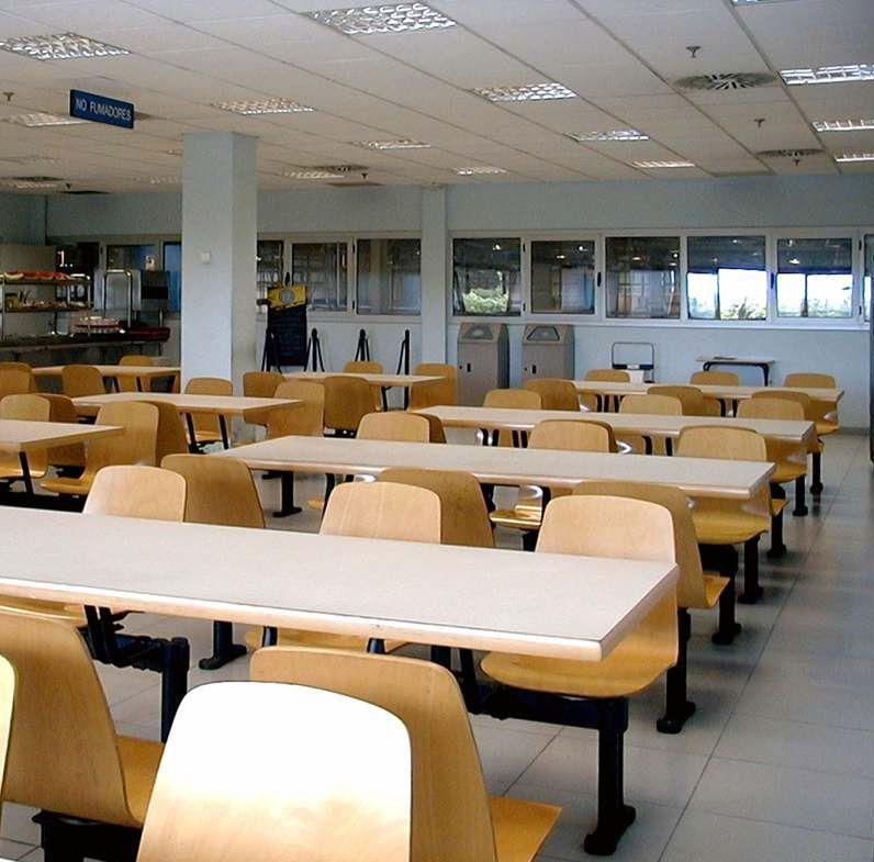 Mesa colegio for Mesas comedor colegio
