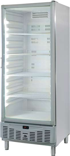 Armario frigorifico puerta de cristal